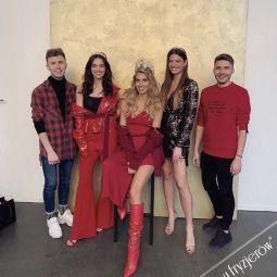 Oficjalna sesja zdjęciowa Miss Polonia 2018. Byliśmy odpowiedzialni za fryzury Miss.